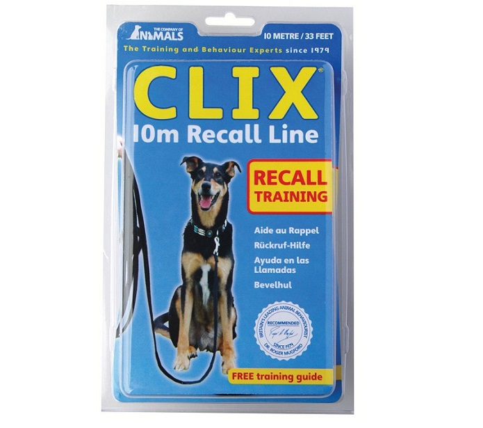 Pet-Tastic Clix Long Line for Dog Recall Training